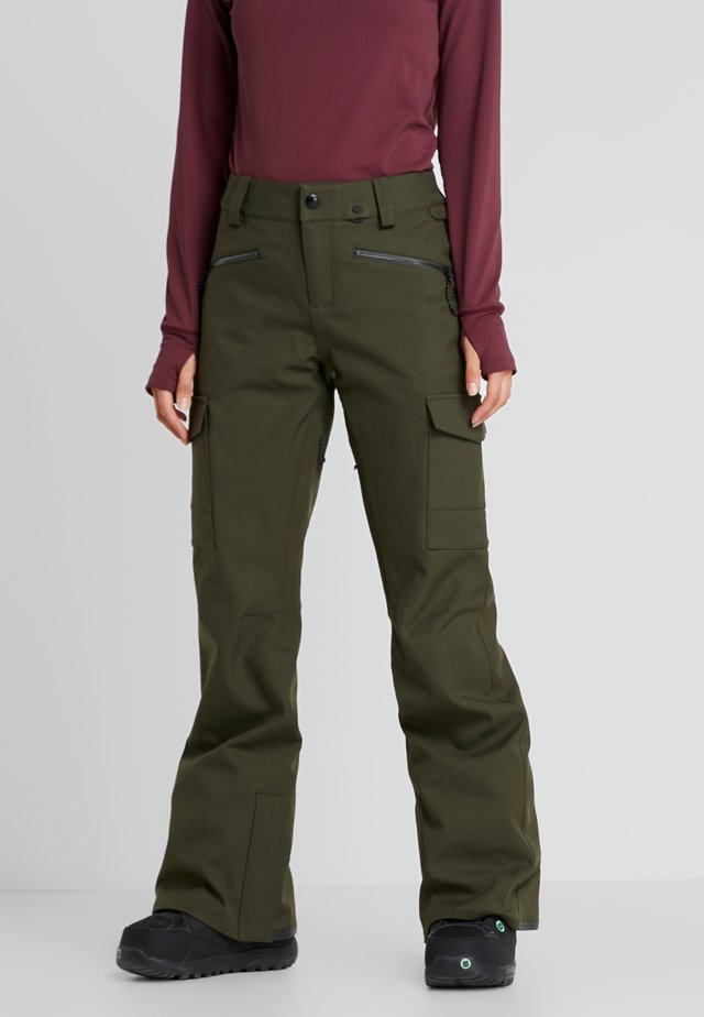 GRACE STRETCH PANT - Talvihousut - forest