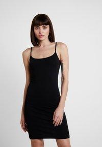 Samsøe Samsøe - TALLA SLIP DRESS - Shift dress - black - 0