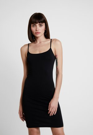 TALLA SLIP DRESS - Shift dress - black