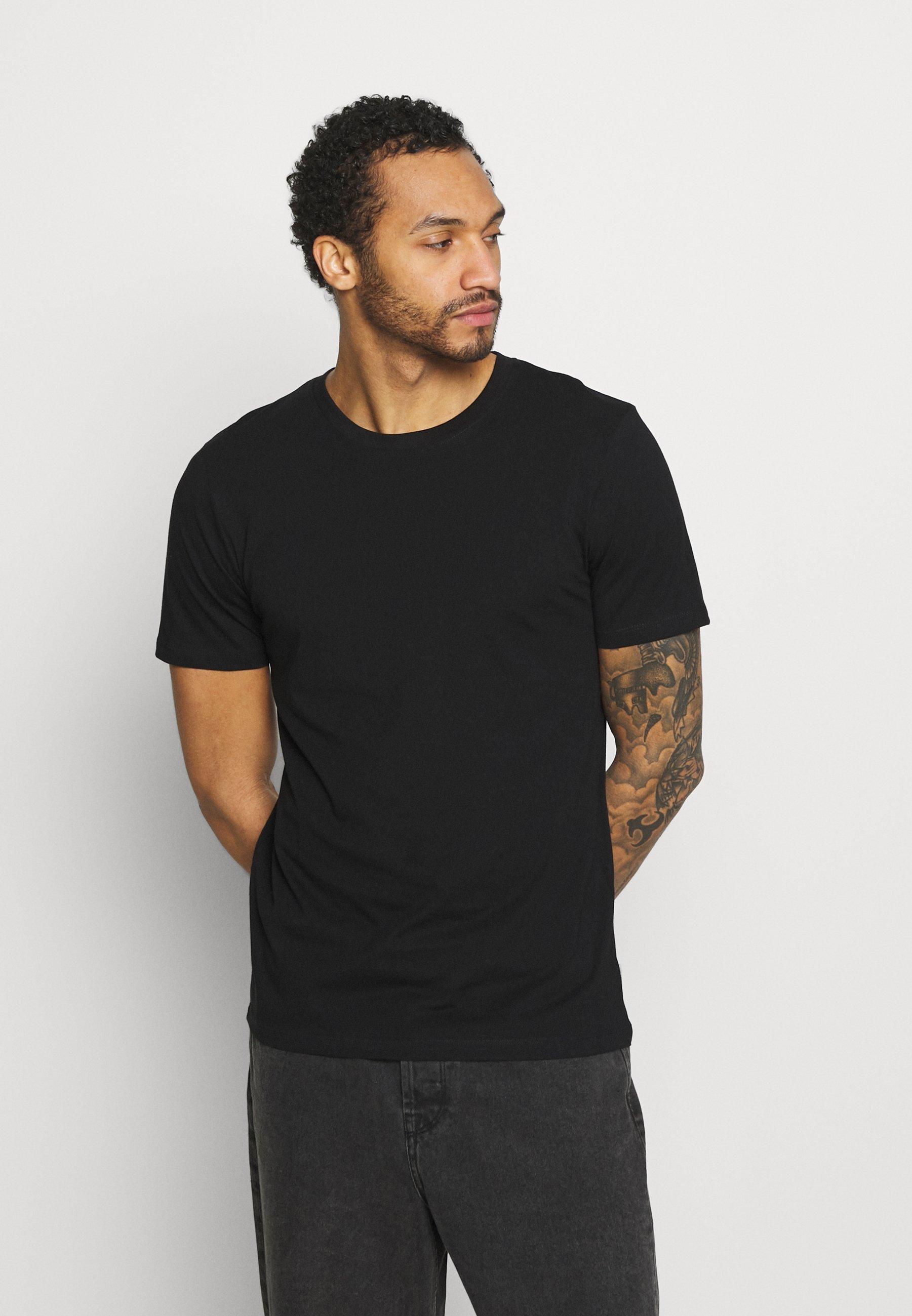 Homme JJEORGANIC BASIC TEE O-NECK 5 PACK - T-shirt basique