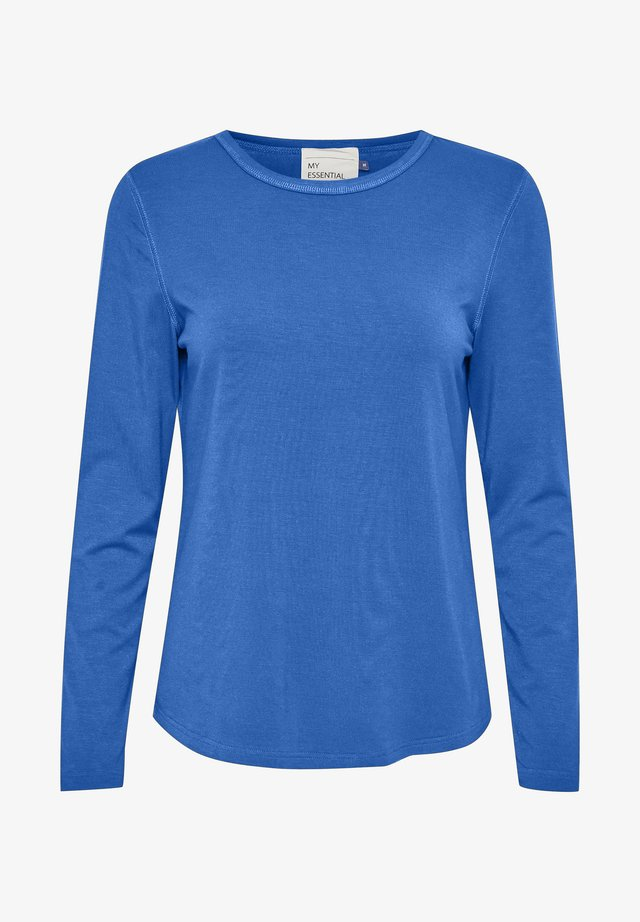 Long sleeved top - olympian blue