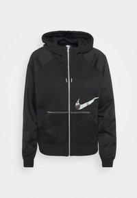 Nike Sportswear - Sweatjacke - black/metallic silver - 3