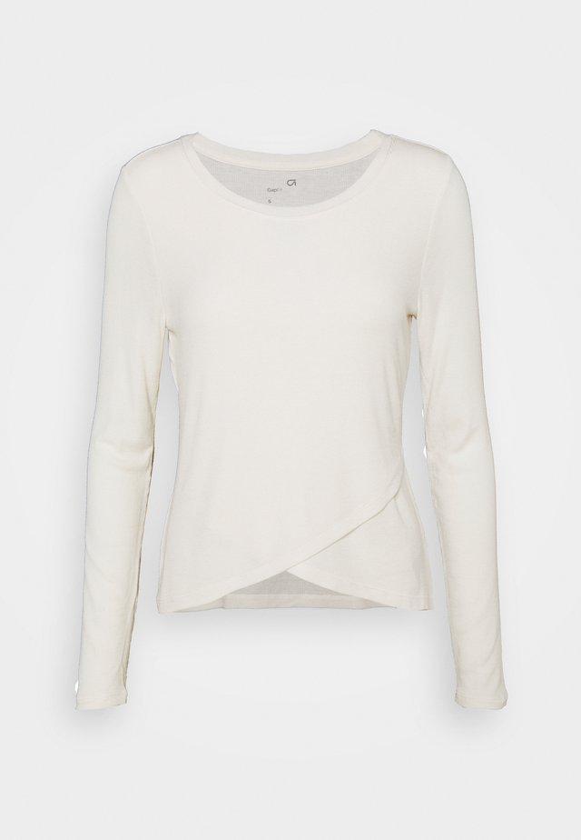 WRAP FRONT - Maglietta a manica lunga - flurry