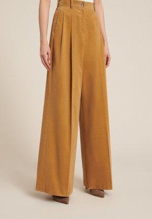 ORIZON - Trousers - beige