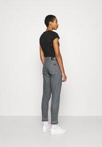 Calvin Klein - HIGH RISE SHANK DETAIL - Slim fit jeans - maceio mid grey - 2