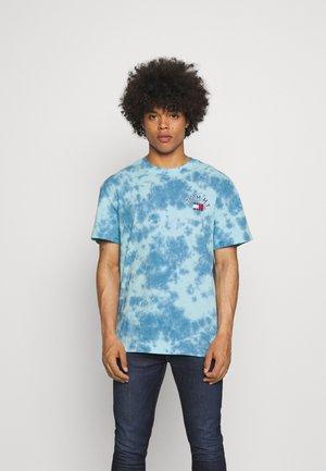 TIE DYE TEE UNISEX - T-shirt imprimé - blue