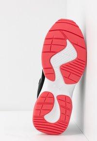 Puma - CILIA - Sneakers - black/calypso coral/silver/white - 6