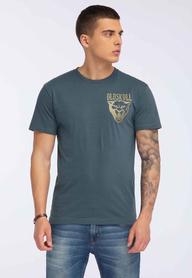T-shirt imprimé - dark green