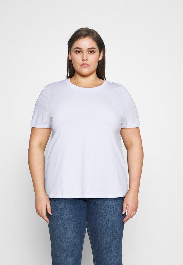 VMPAULA - Basic T-shirt - bright white