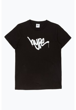 GRAFFITI - T-shirt print - black/white