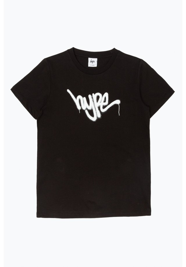 GRAFFITI - T-shirt imprimé - black/white