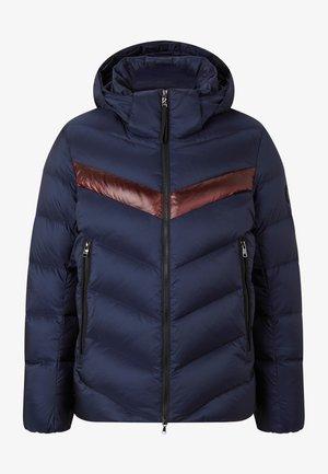 ANDY - Down jacket - navy blau/bordeaux rot