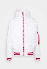 Alpha Industries - HOODED - Summer jacket - white - 0