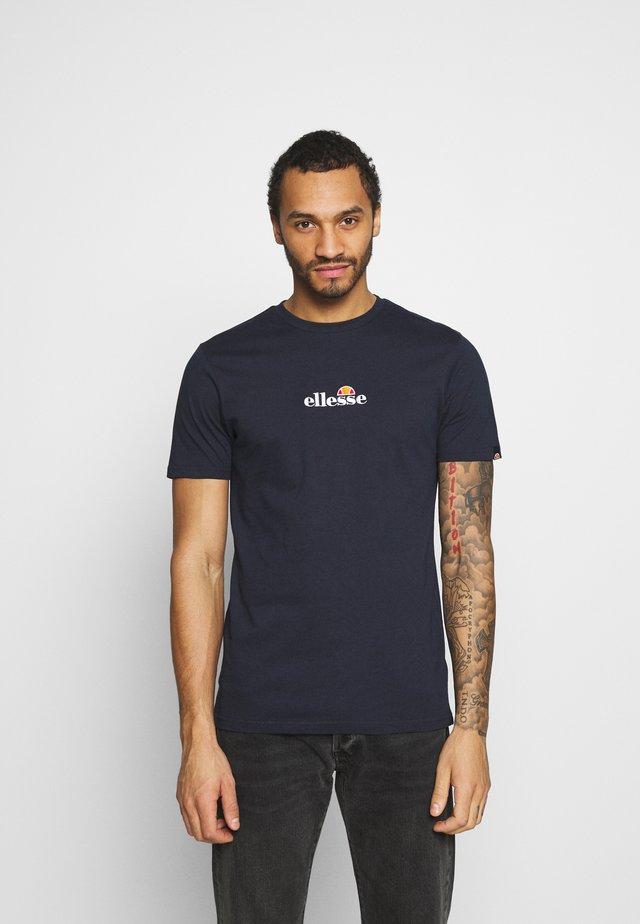MAVOZ - T-shirt z nadrukiem - navy