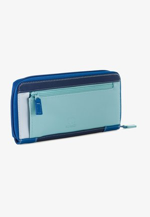 MYWALIT ZIP AROUND PURSE GELDBÖRSE II LEDER 19 CM - Wallet - denim
