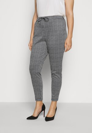 MADDISON CROPPED PANT - Trousers - black
