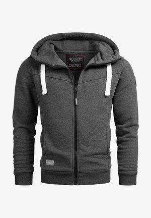 Zip-up hoodie - duneklgrau