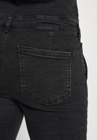 ONLY Carmakoma - CARCALLI ZIP - Jumpsuit - black denim - 8