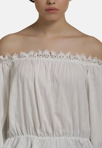 myMo - BLUSE - Blouse - weiss - 3