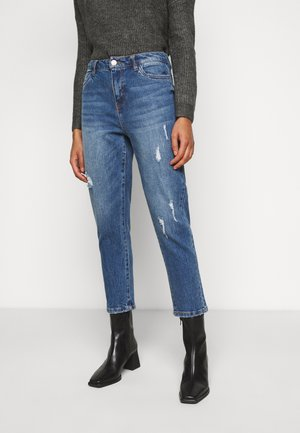 NMOLIVIA - Jeans Straight Leg - medium blue denim