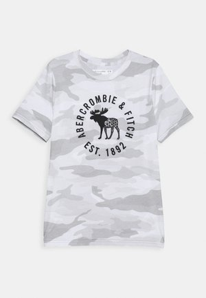 HIKE BEAST TECH LOGO - Camiseta estampada - grey