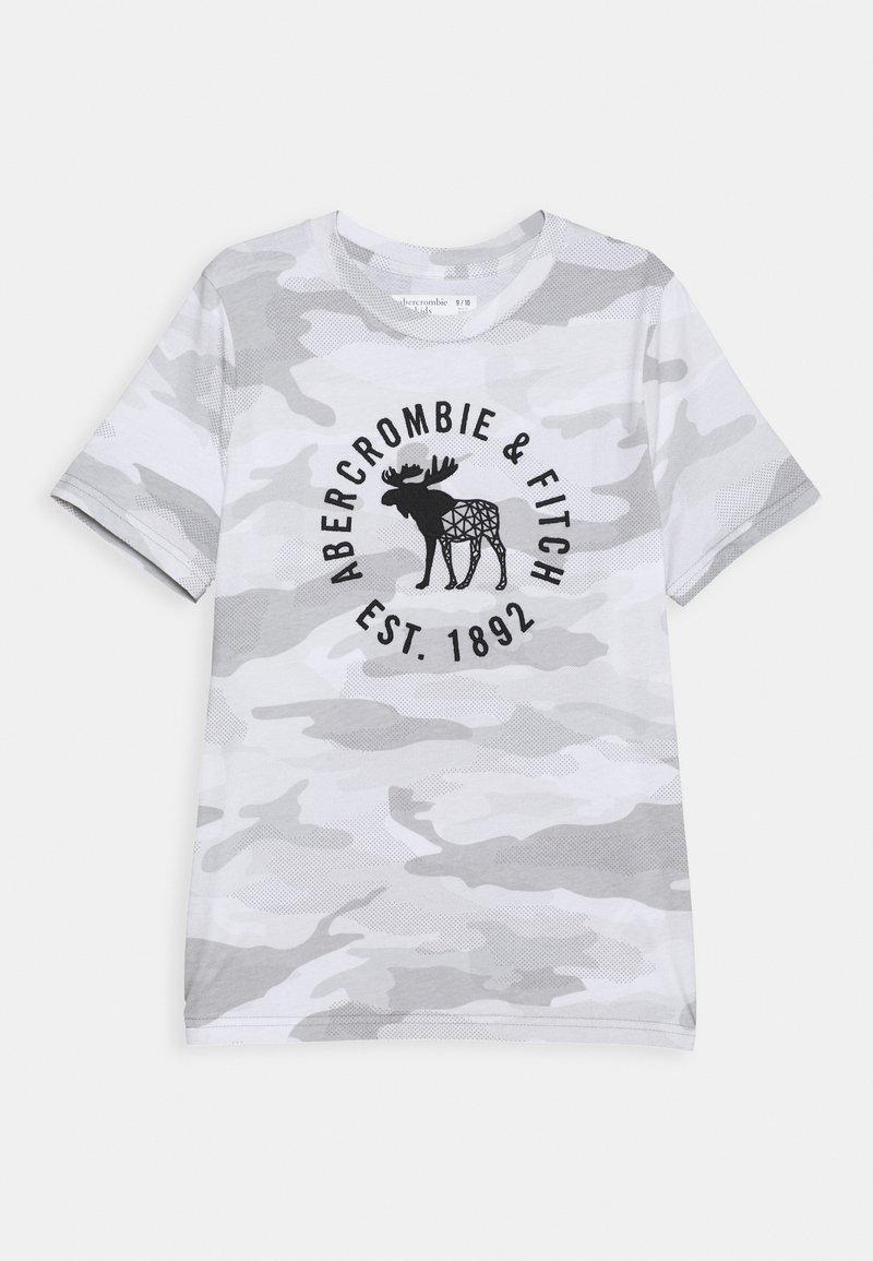 Abercrombie & Fitch - HIKE BEAST TECH LOGO - T-shirts print - grey