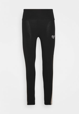 BAY TAPE LEGGING - Leggings - black