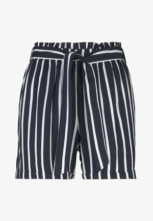 RELAXED - Shorts - navy white stripe