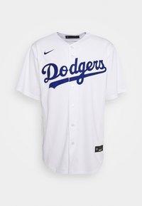 Nike Performance - MLB LA DODGERS HOME - Club wear - white - 0