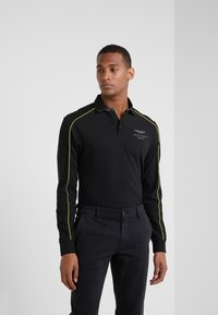 Hackett Aston Martin Racing - PIPED SEAM - Polo - black - 0