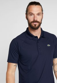 Lacoste Sport - TENNIS - T-shirt de sport - navy blue - 3