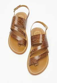 White Sun - VIOLA  - T-bar sandals - tan - 2