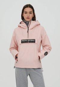 PULL&BEAR - PACIFIC REPUBLIC - Winter jacket - rose - 0