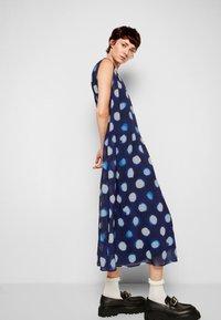 PS Paul Smith - DRESS 2-IN-1 - Day dress - dark blue - 5
