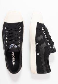 Gola - COASTER - Sneakersy niskie - black/offwhite - 3