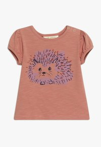 Soft Gallery - FRANNIE HEDGY - Print T-shirt - tawny orange - 0