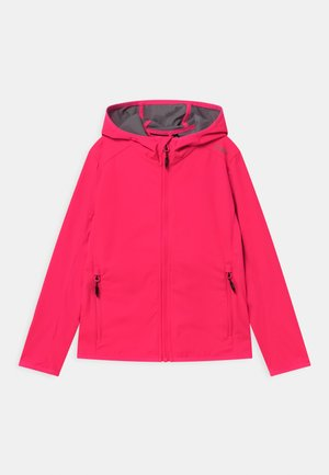FIX HOOD - Soft shell jacket - gloss