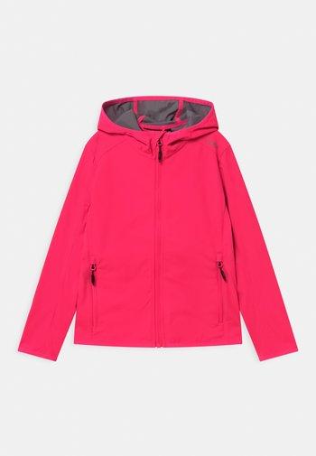 FIX HOOD - Soft shell jacket - gloss