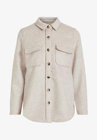 Object - OBJVERA - Lett jakke - mottled beige - 4