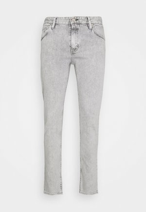 DROP CROPPED - Slim fit jeans - light grey