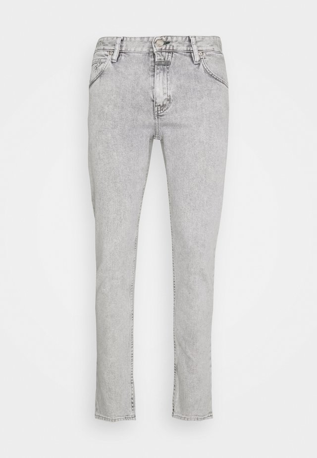 DROP CROPPED - Jeans slim fit - light grey