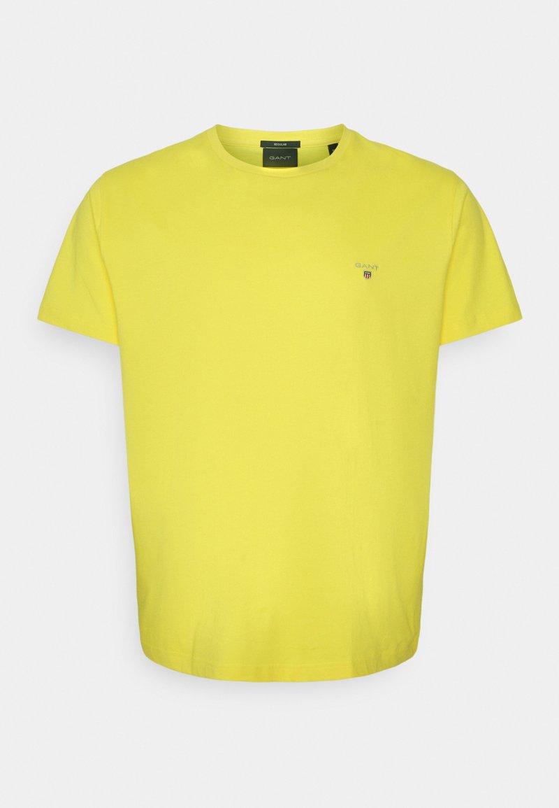 GANT - THE ORIGINAL - T-shirt - bas - brimstone yellow