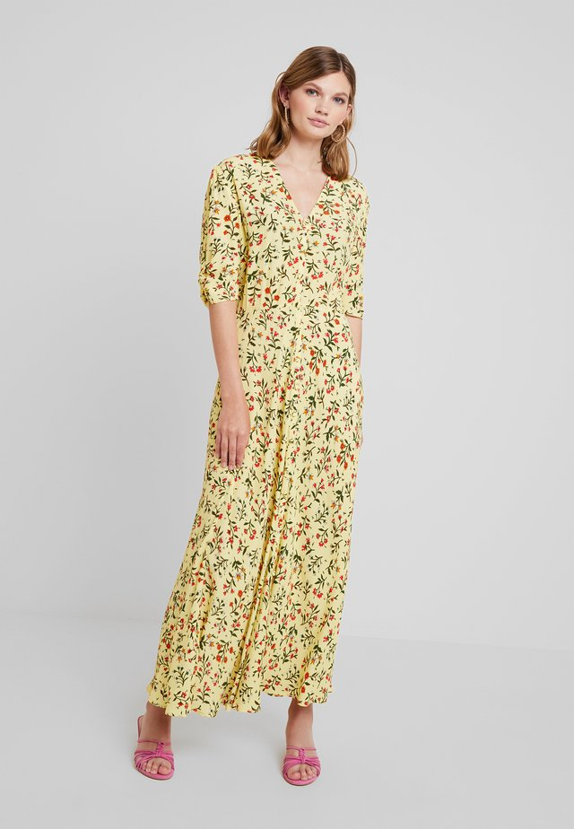 MARLEY DRESS - Vestido largo - yellow