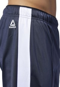 Reebok - TRAINING ESSENTIALS LOGO TRACKSTER PANTS - Tracksuit bottoms - blue - 4