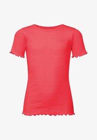 WE Fashion - T-shirt basic - pink - 0
