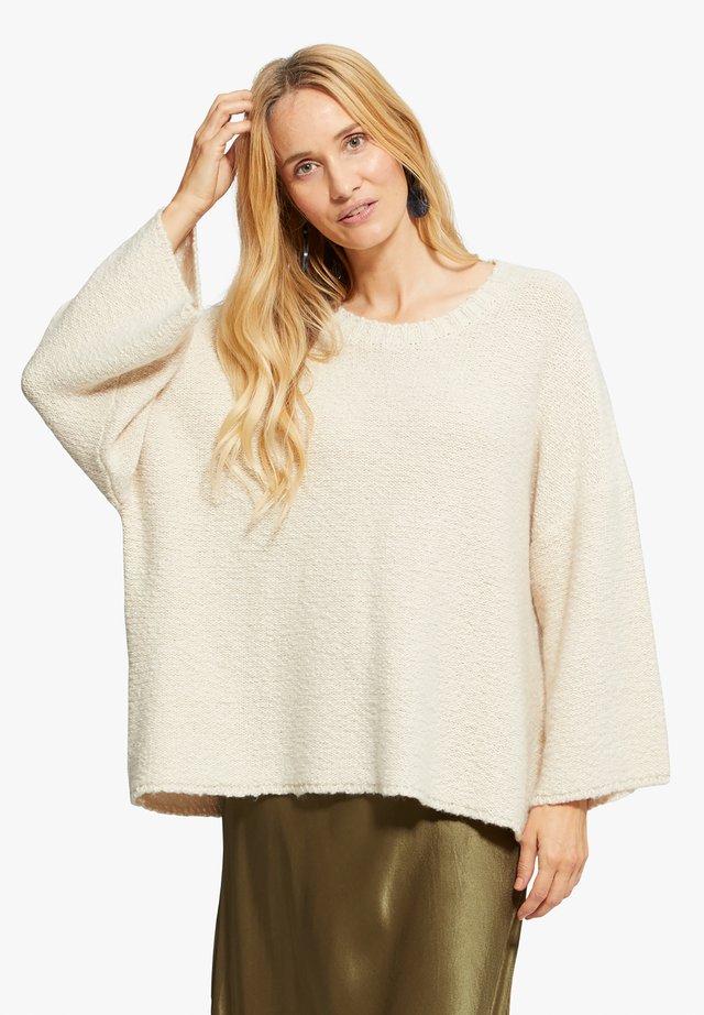 FUSINI - Pullover - beige