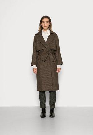NEW ORDER TRENCH COAT - Mantel - dark brown