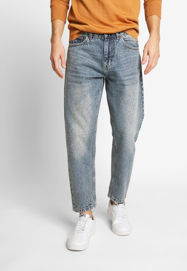 Jeans Straight Leg - rigid blue