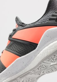 adidas Performance - STABIL X - Handball shoes - grey six/signal coral/grey two - 5