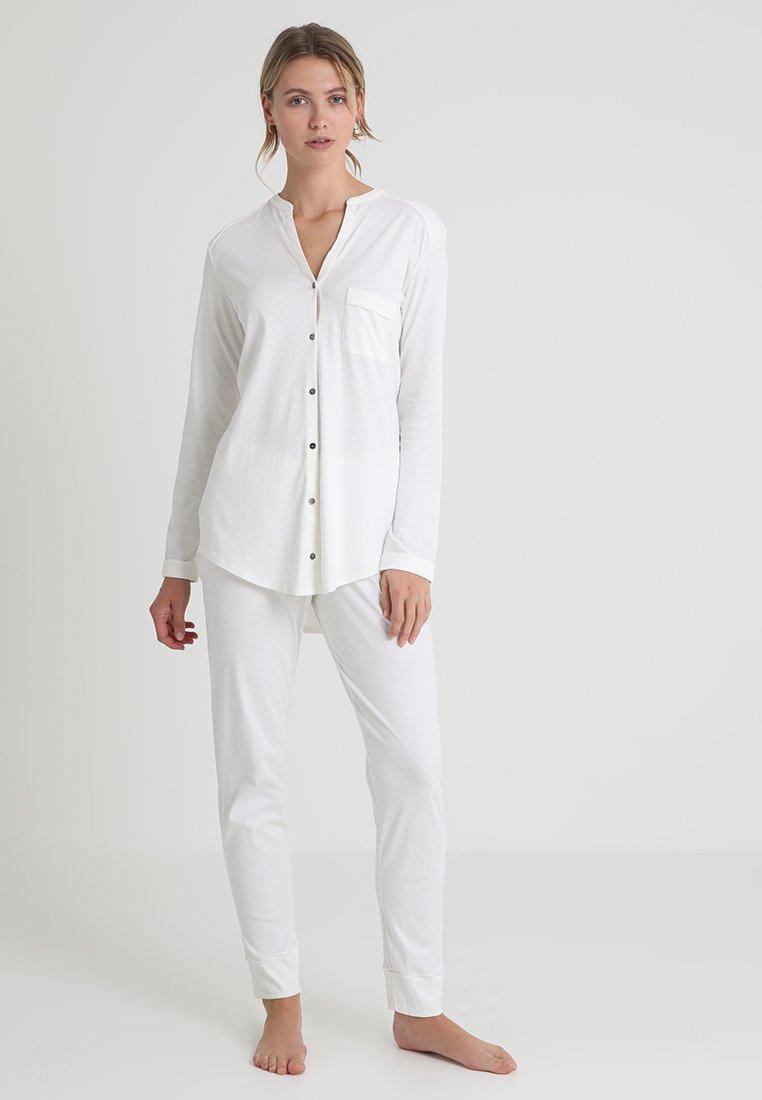 Hanro - PURE ESSENCE SET - Pyjama set - off white